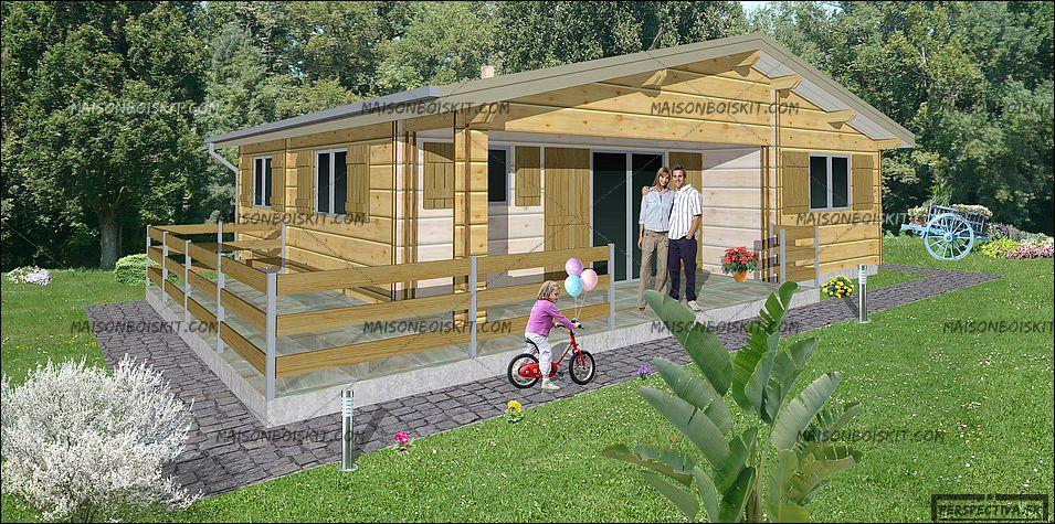 prix chalet bois habitable l 39 habis. Black Bedroom Furniture Sets. Home Design Ideas
