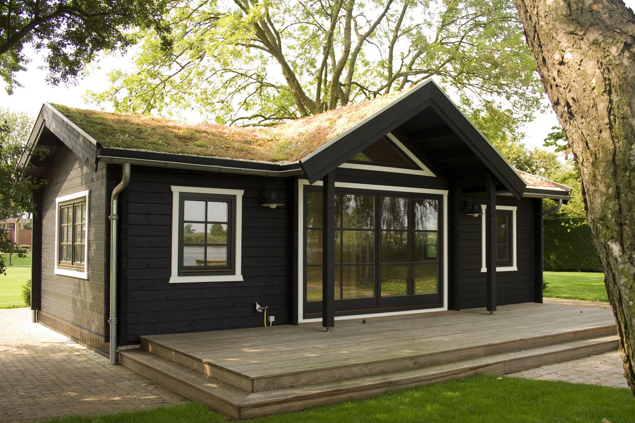 Achat chalet bois habitable kit l 39 habis for Maison bois 50m2 prix
