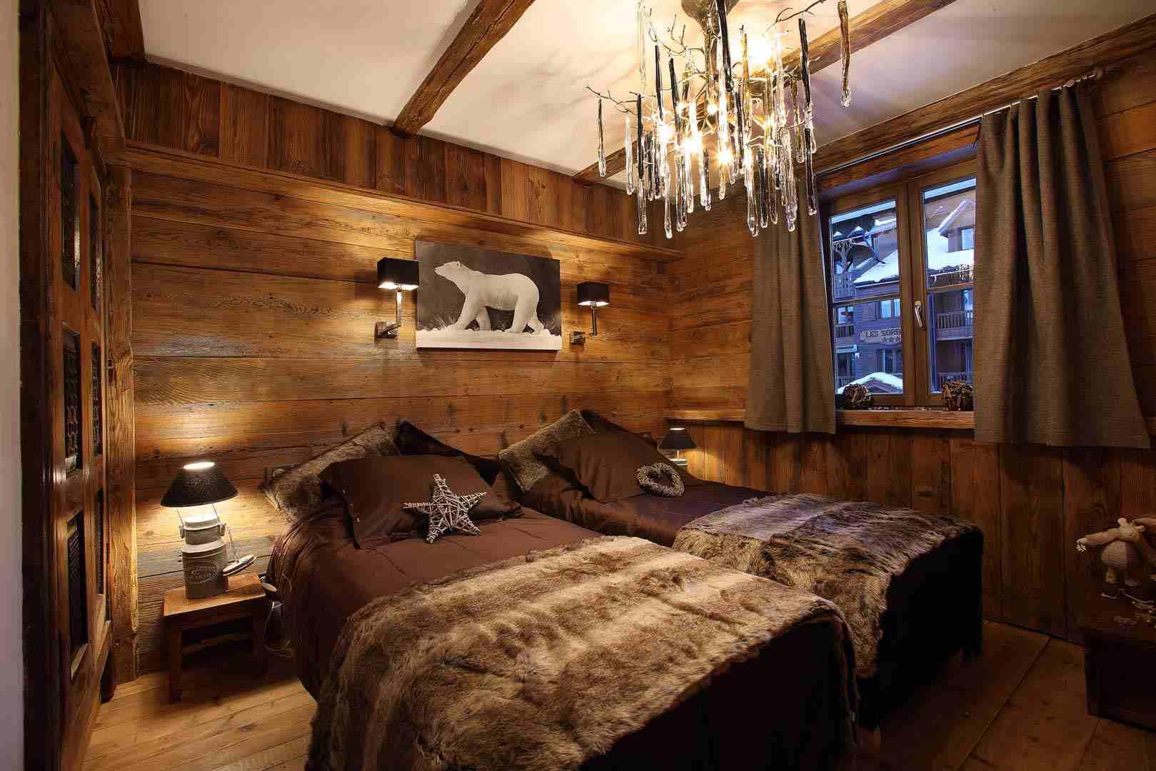 decoration mur interieur bois