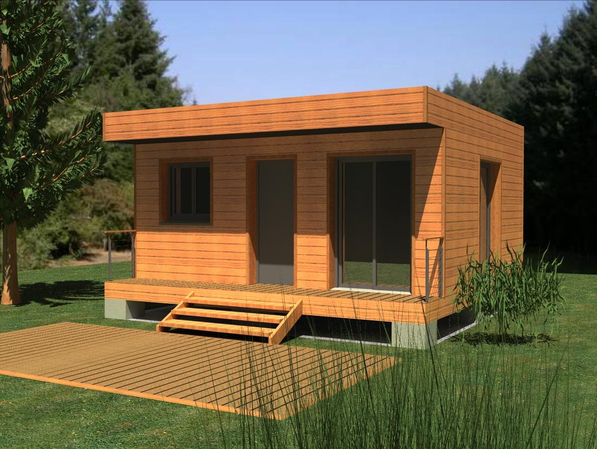 extension bois maison l 39 habis. Black Bedroom Furniture Sets. Home Design Ideas