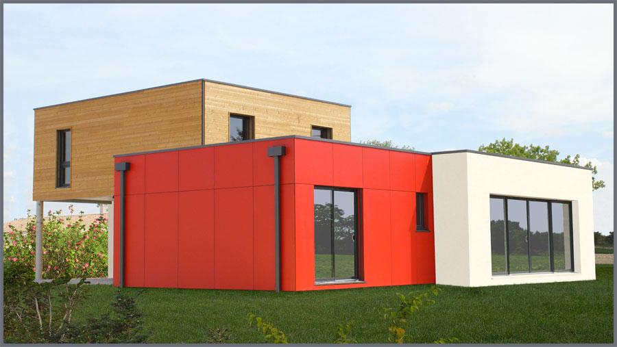 maison bois ecologique prix ici l 39 habis. Black Bedroom Furniture Sets. Home Design Ideas
