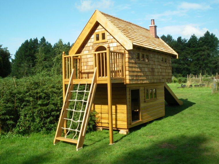 Maison bois enfant l 39 habis - Cabane de jardin habitable versailles ...