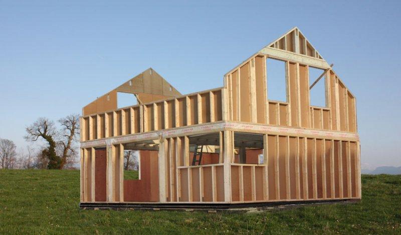 Maison ossature en bois - l'Habis