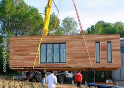 Maison en bois pr fabriqu e prix l 39 habis - Maisons prefabriquees prix ...