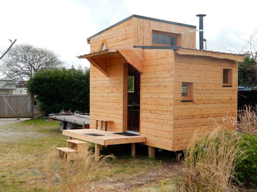 Maison bois ici l 39 habis for Prix mini maison sur mesure
