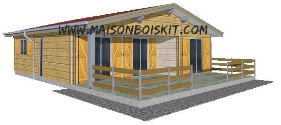 Constructeur de chalet en bois en kit l 39 habis for Constructeur chalet prix
