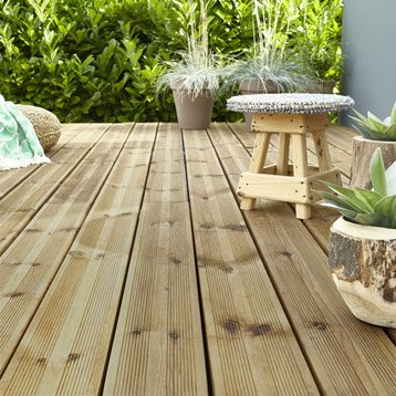 planche bois pour terrasse exterieure - l'habis