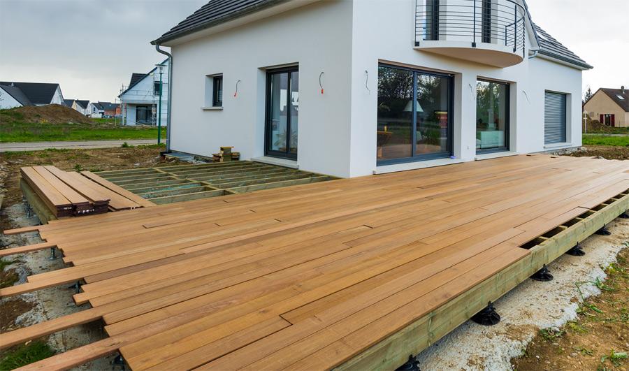 terrasse bois en l l 39 habis. Black Bedroom Furniture Sets. Home Design Ideas