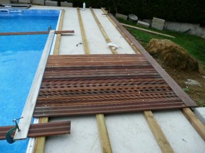 plancher piscine bois l 39 habis