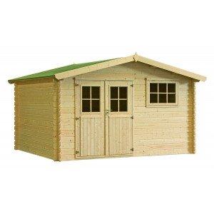 cabane de jardin 12m2 l 39 habis. Black Bedroom Furniture Sets. Home Design Ideas