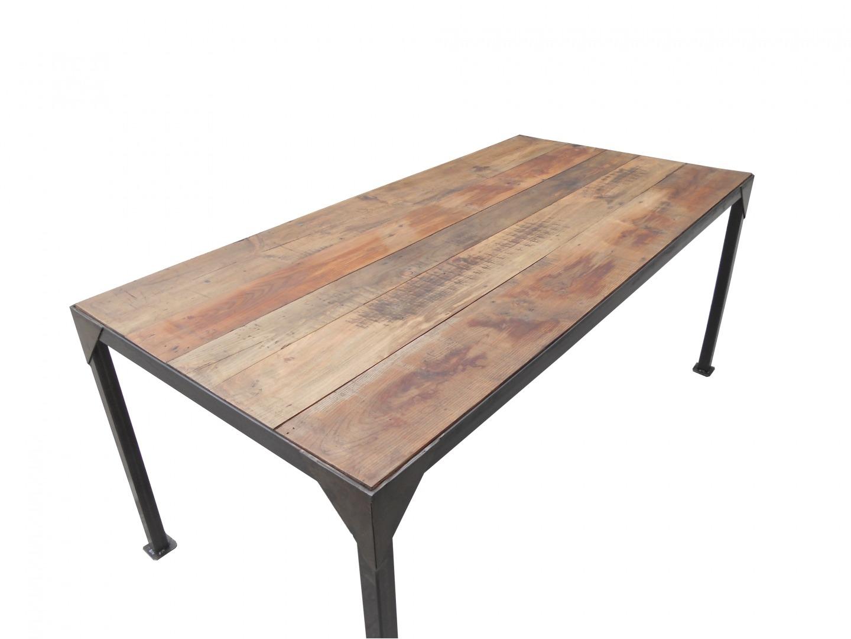 table bois l 39 habis. Black Bedroom Furniture Sets. Home Design Ideas