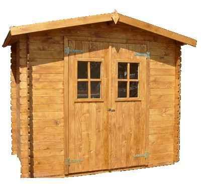 Cabane de jardin pas cher en bois l 39 habis - Cabane en bois de jardin pas cher ...