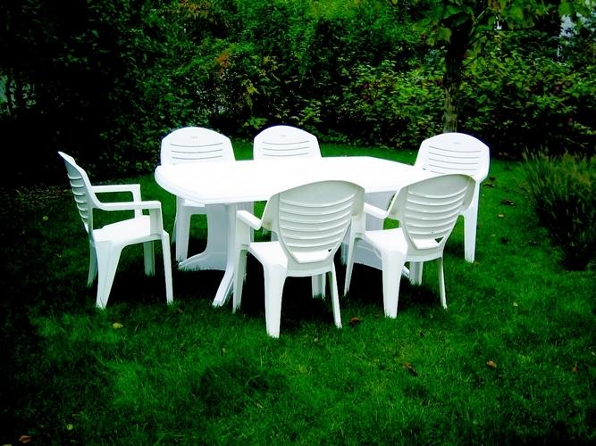 Table De Jardin Pas Cher En Plastique Lhabis