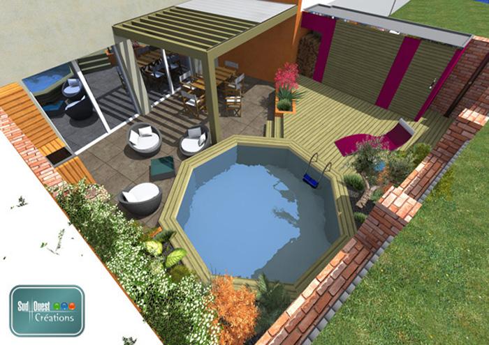 creation plan 3d l 39 habis. Black Bedroom Furniture Sets. Home Design Ideas