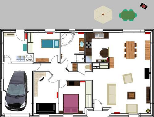 Dessiner un plan maison l 39 habis for Programme dessin maison