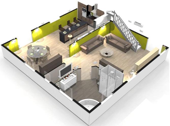 faire les plans de sa maison Maison 3d en ligne. Réaliser plan maison gratuit. Dessiner plan de maison  gratuit logiciel