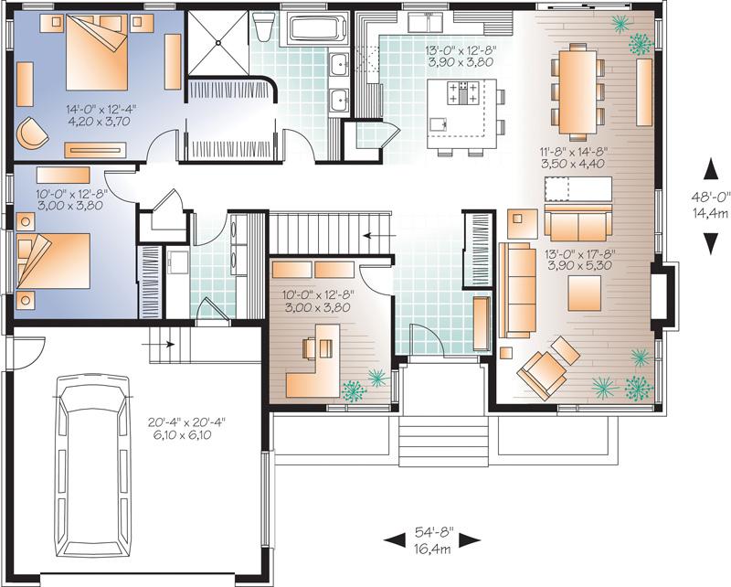 bungalow bois en kit l 39 habis. Black Bedroom Furniture Sets. Home Design Ideas