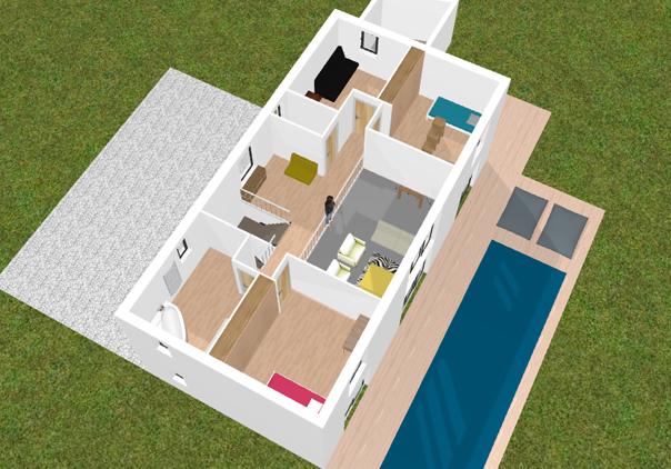application pour plan de maison l 39 habis. Black Bedroom Furniture Sets. Home Design Ideas