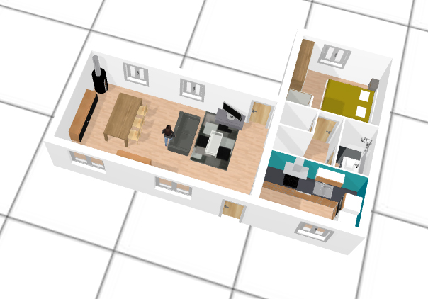 logiciel cr ation maison 3d gratuit l 39 habis. Black Bedroom Furniture Sets. Home Design Ideas
