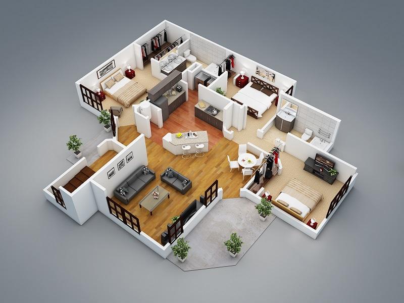 faire plan maison 3d gratuit en ligne l 39 habis. Black Bedroom Furniture Sets. Home Design Ideas