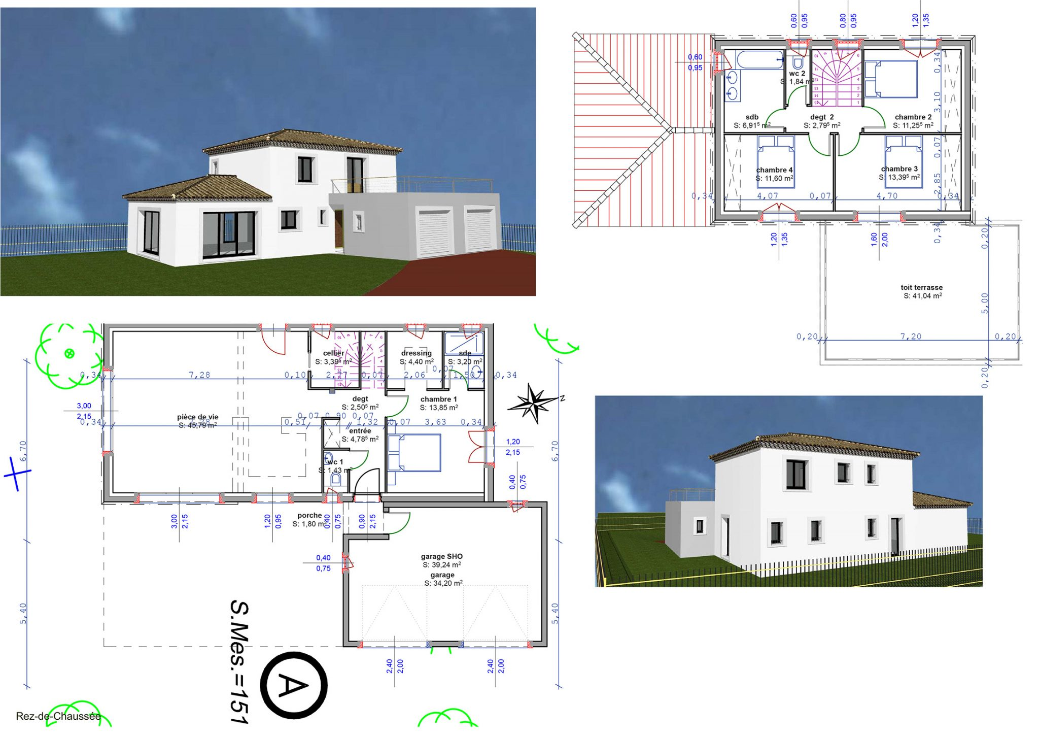 creation plan maison l 39 habis