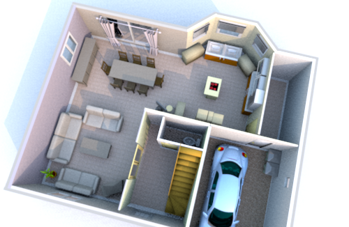 Plan architecte l 39 habis - Plan maison 3d en ligne ...